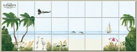 Create your own tile mural elements collection for Design your own mural