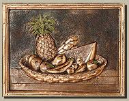 Tumbled Stone Tile Murals For Kitchen Backsplash, Decorative Tile Inserts