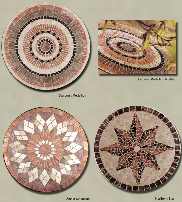 inlays medallion jet linkstarindustry natural com water cheap sell tile stone